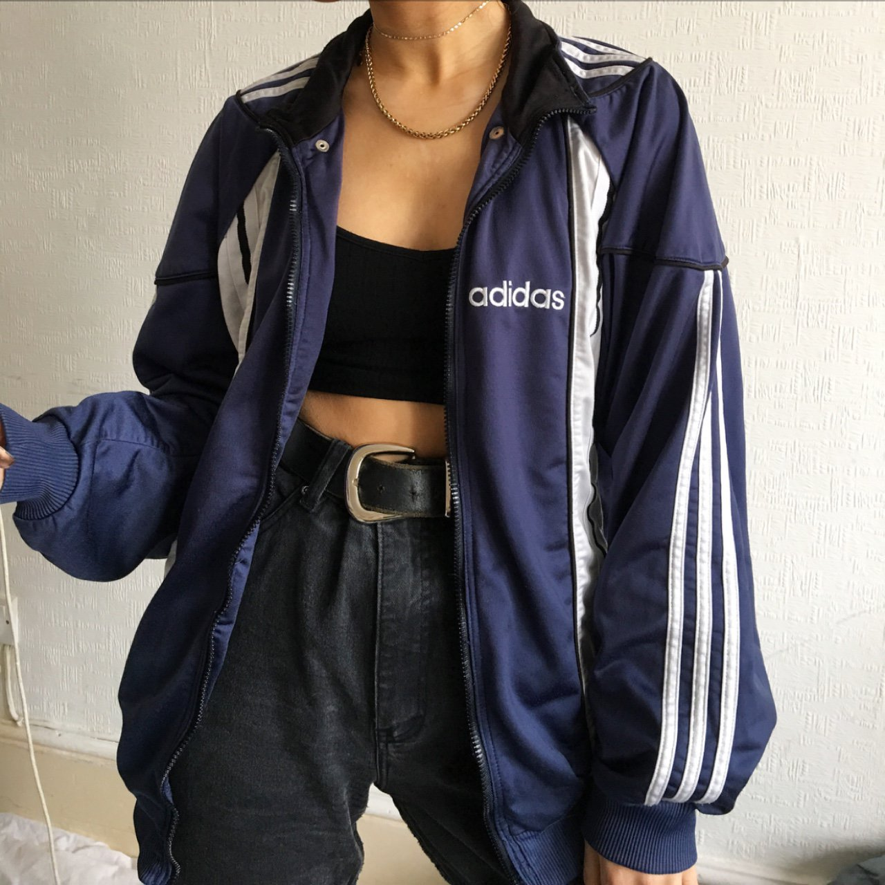 Vintage Adidas Jacket Very Good Condition 🌿 Follow