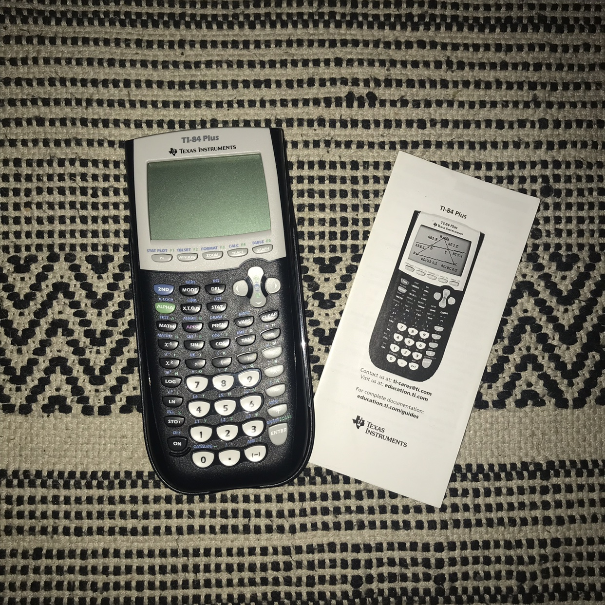 PERFECT CONDITION TI-84 Plus Graphing Calculator    - Depop