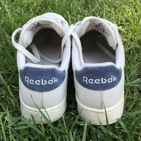853c28fd99a LOOK AT THESE! super cute vintage looking reeboks. these are - Depop
