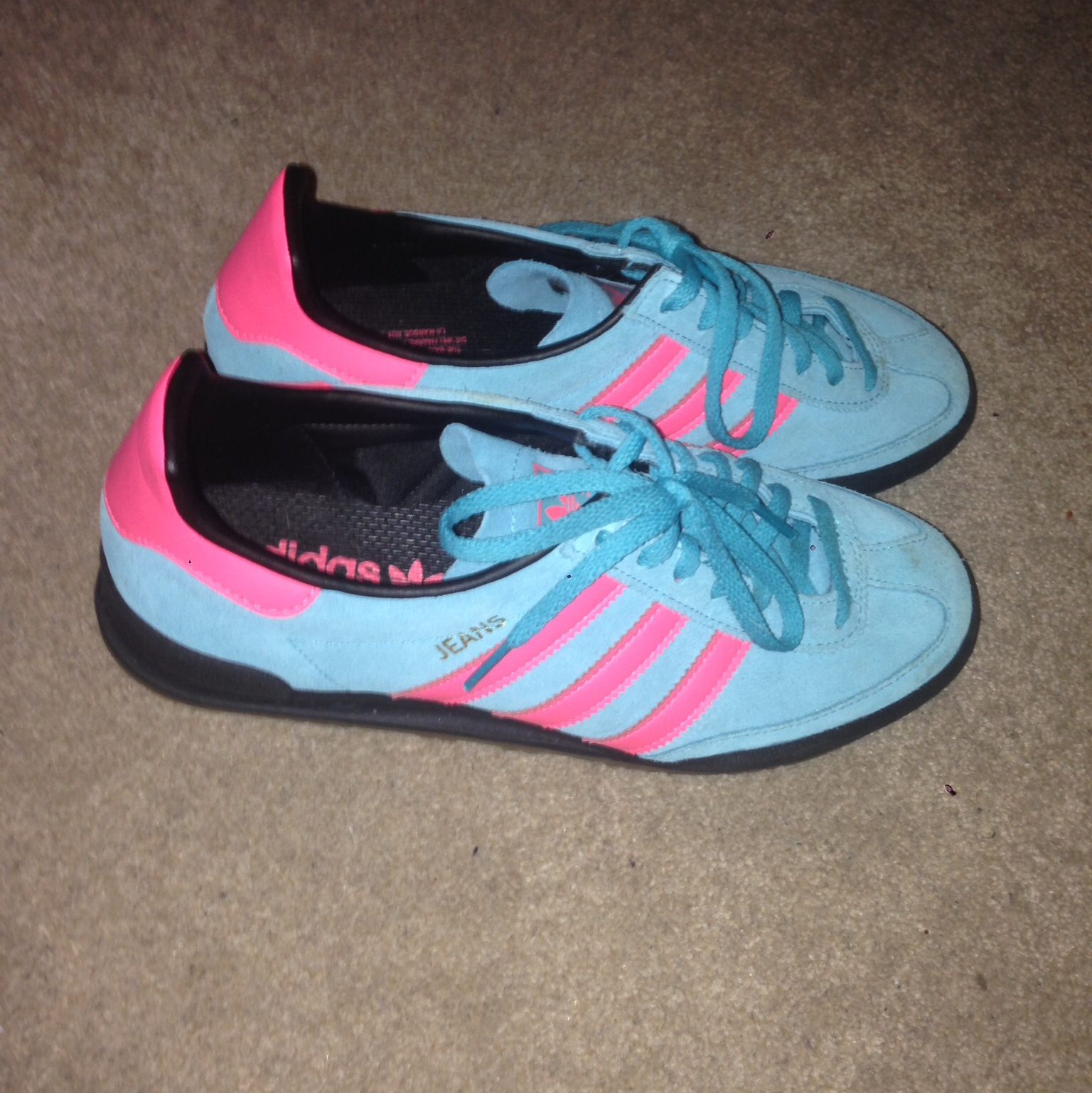 Adidas Jeans trainers size 6.5 light