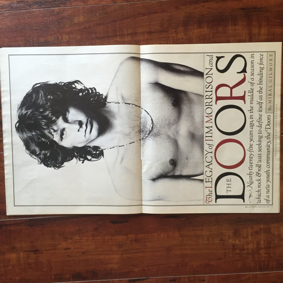Vintage Rolling Stone Magazine April 4th 1991 Issue    - Depop