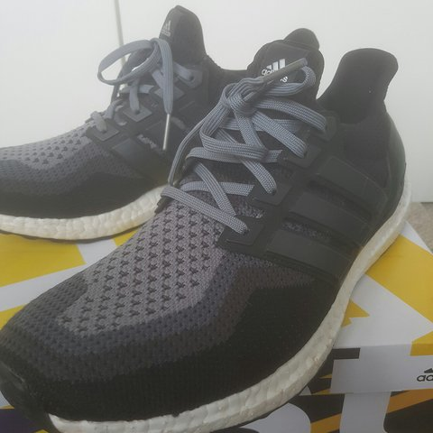 697d5e980f1  mdaboyling. 2 years ago. Uk 11 core black ultra boost! There are a few  scuffs ...