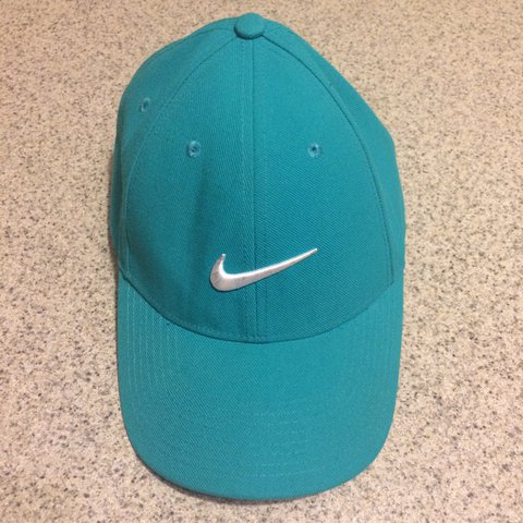 45765175 new zealand nike heritage essential swoosh cap ade7a 64e66; discount nike  hat turquoise hardly warm very good condition nike depop 6652e b70ee