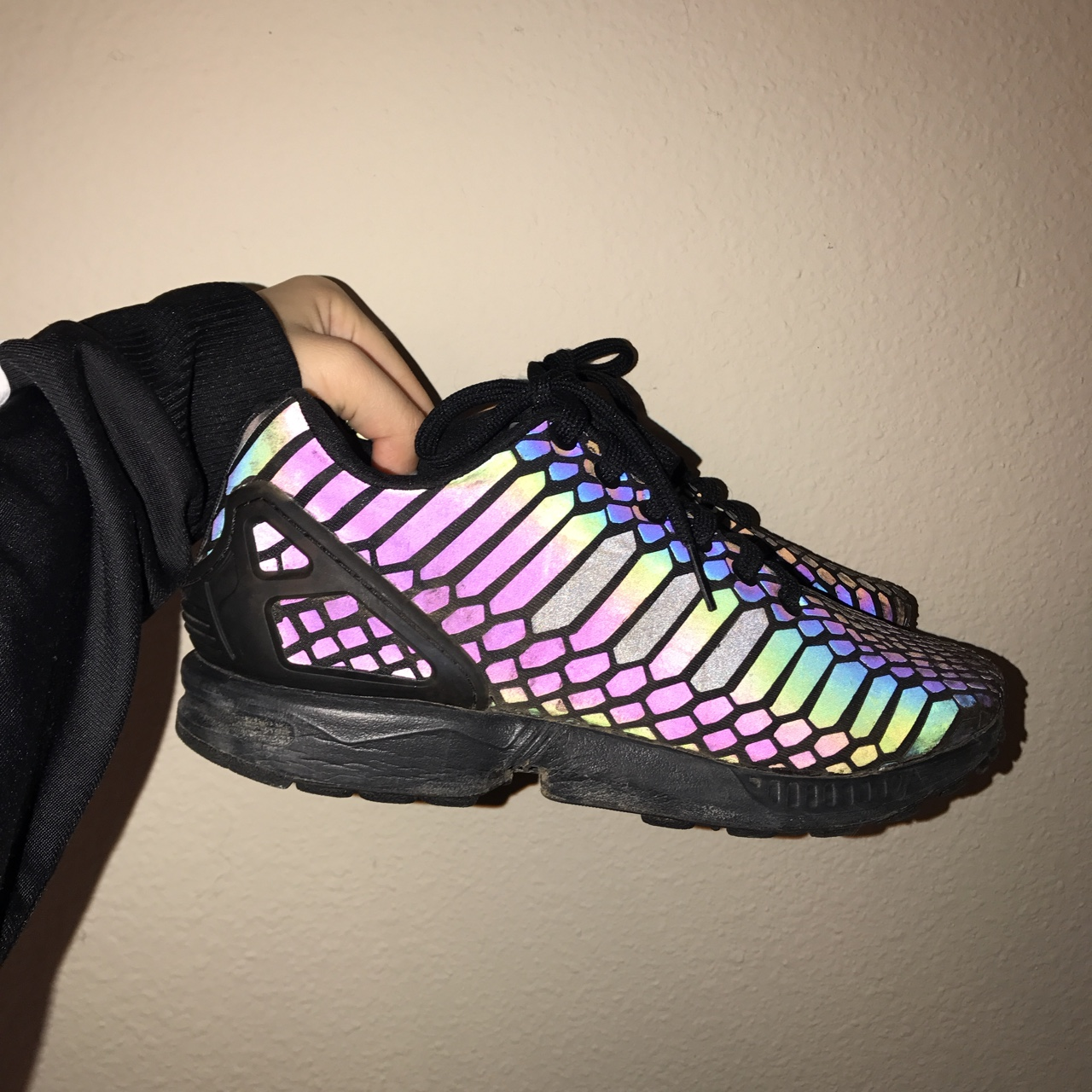 check out 23d29 a299f Adidas Zx Flux Xeno Black | In Good Condition | The... - Depop