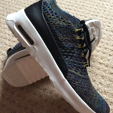new concept 95dec 38a5a  snowy136. last month. United Kingdom. Women s Nike Air Max Thea Ultra FK  Flyknit Black- Ivory ...