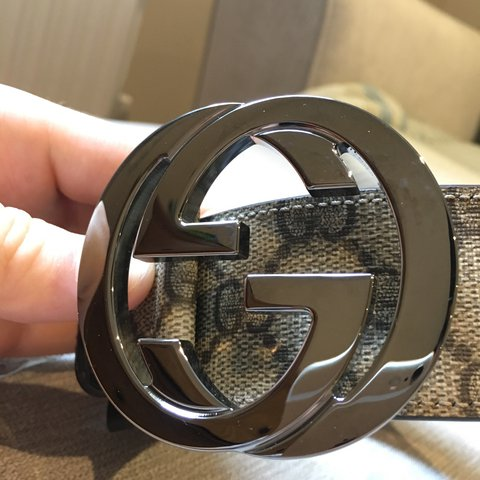 f5e325292bc Brand new 100% authentic Gucci monogram belt