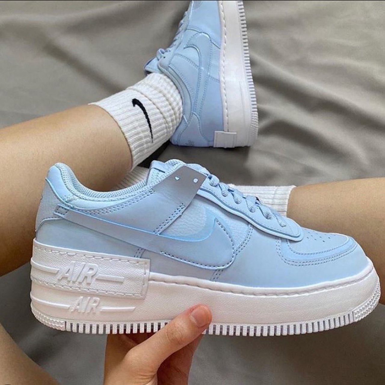 air force 1 shadow white hydrogen blue