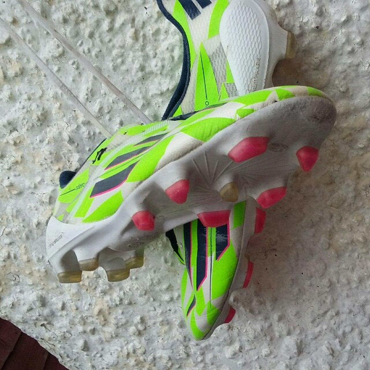 fe6b80ff55b Fully real Adizero ( Adidas ) f50 boots. They have a chip on - Depop