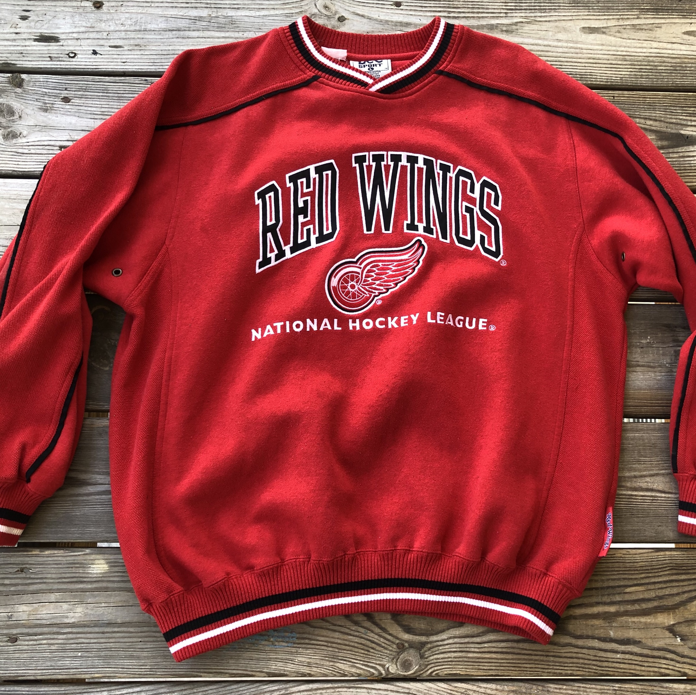 reputable site 4a32a 12929 Vintage Detroit Red Wings Sweater #Detroit #RedWings ...