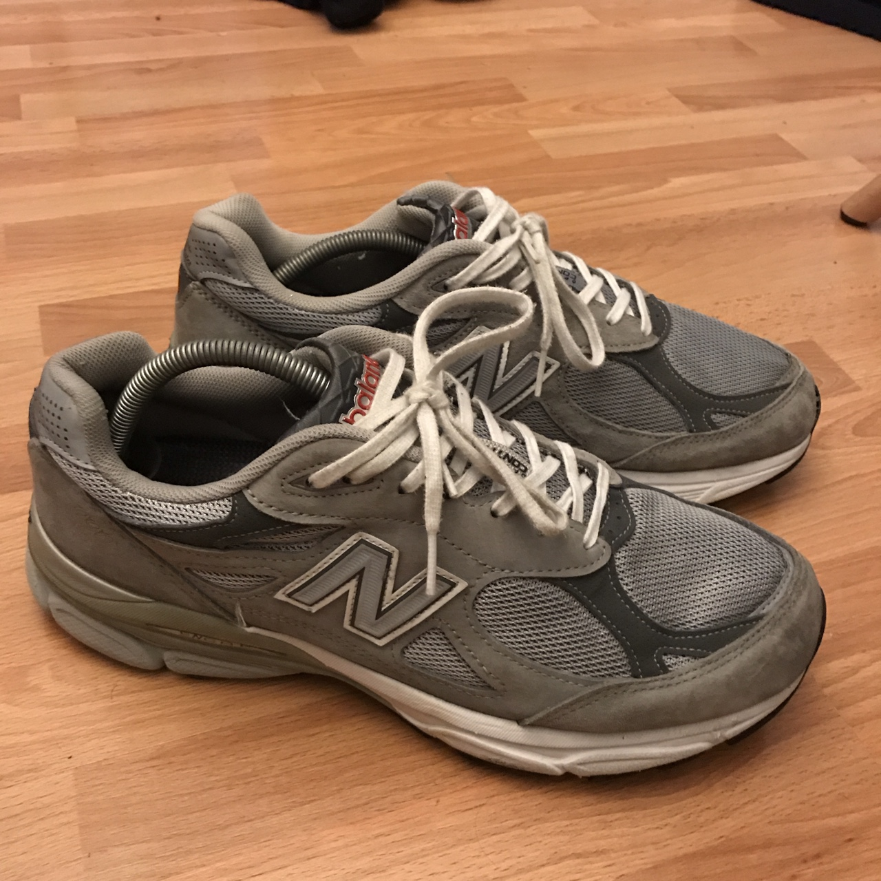 buy online 0a53f 17803 New Balance 990v4 for sale. Great condition! No heel... - Depop