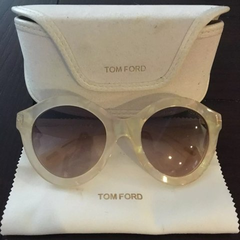 0117568cabf62 Authentic Tom Ford TF359 21B pearl sunglasses.  tomford - Depop