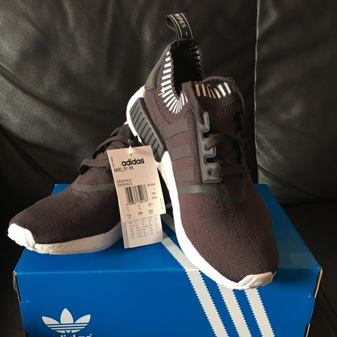 64ec71fd2 Adidas NMD R1 PK Japan Solid Grey (S81849) UK 7 BNIB from me - Depop