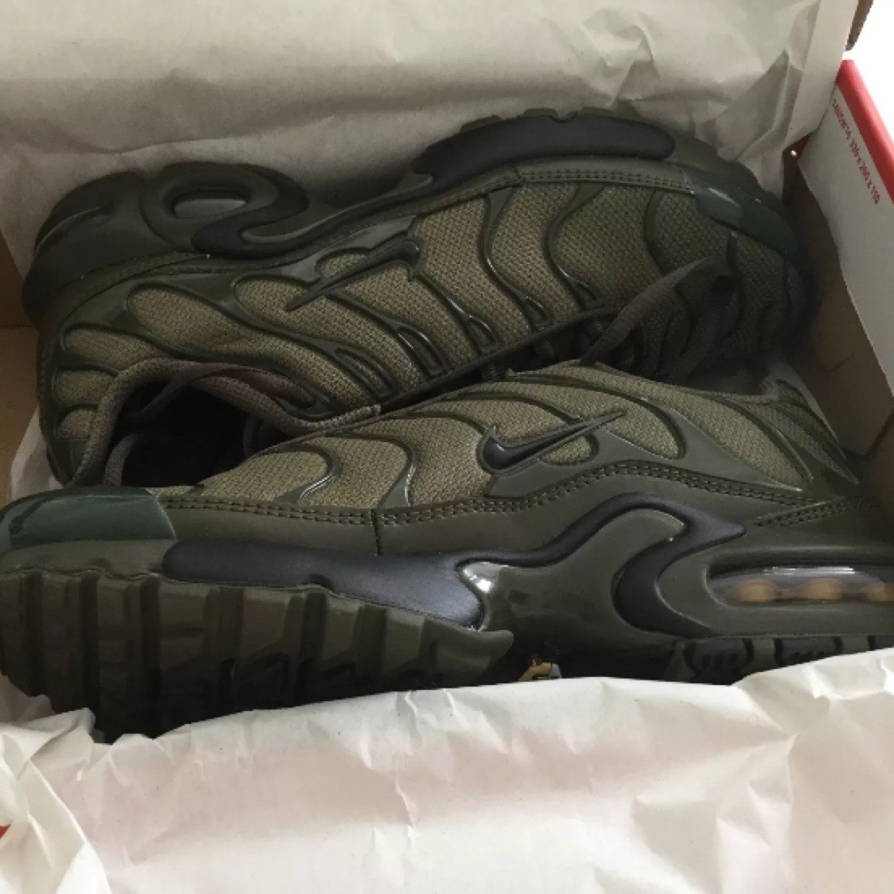 """official photos c5736 be83d Nike Air Max Plus Tn """"Olive Green"""