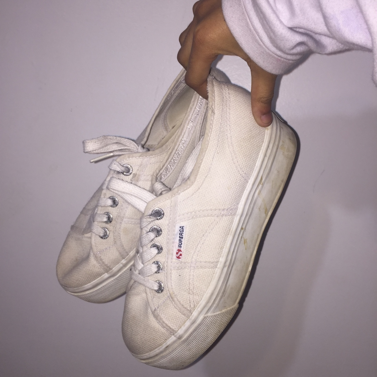 SUPERGA SNEAKERS Off-white but can be