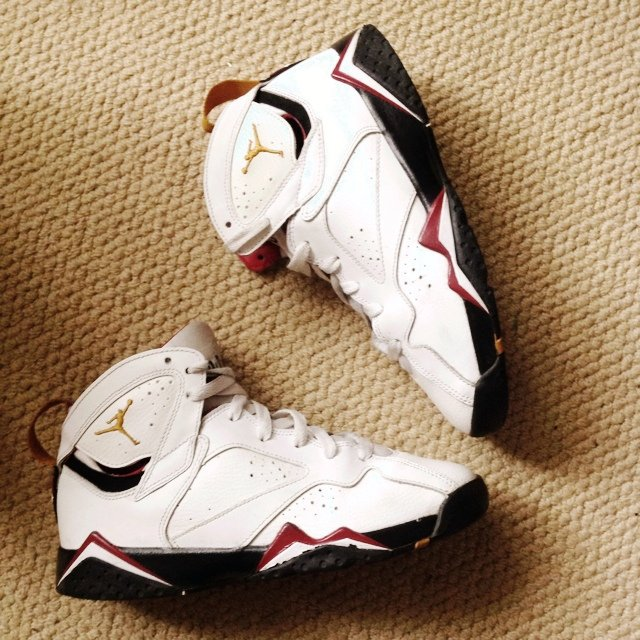 best website 4bb06 e76d8  akin1lord. 5 years ago. London, UK. Nike Air Jordan Retro 7 White ...