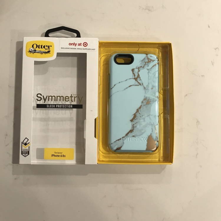 new concept 5d397 07044 ⭐ Otterbox Teal Marble phone case Target... - Depop