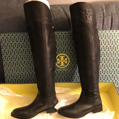 baff200faaf4 👢 Authentic Tory Burch Simone 35mm riding boots 👢 Tory the - Depop