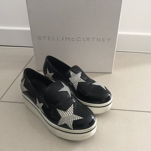 6e6d1678d5eb @annieo90. last year. London, United Kingdom. Stella McCartney Binx  Trainers Size 36/UK3