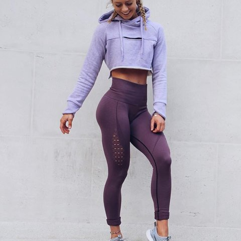ab88d802f6 BRAND NEW WITH TAGS AND PACKAGING gymshark high waist energy - Depop
