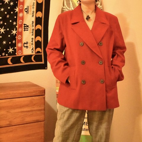 f7ca9b7ef22 Oversized Old Navy wool coat. Marked as size large