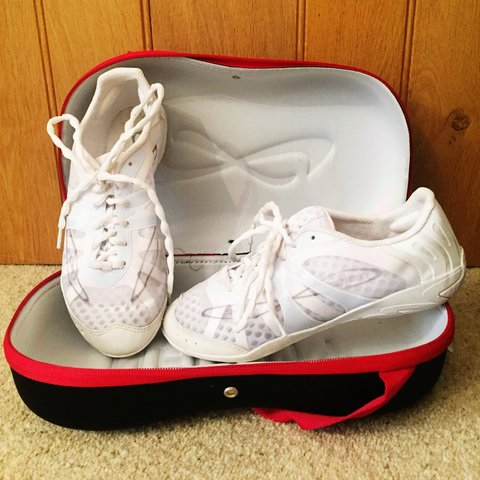 603b28dce0b3 @candysclothing. 3 years ago. Alfriston, United Kingdom. Nfinity Vengeance  Cheer Shoes ...