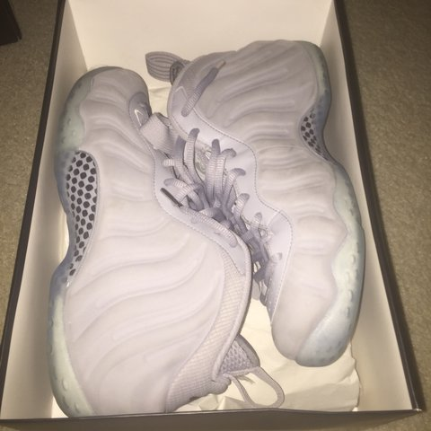 701a4ea33c8  mattkos22. 3 years ago. United States. Wolf grey foamposites size 9.5 with size  10 box (shoes ...