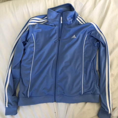 57a9ff02 Blue Blue Size Listed Women's Depop Adidas A A Baby As Track Jacket Xl Znd0w