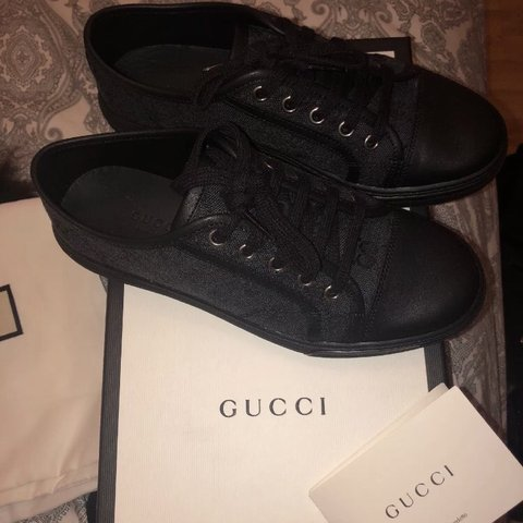 54cd7cb1acf Gucci woman s trainers size 4 UK Worn once for a few hours - Depop