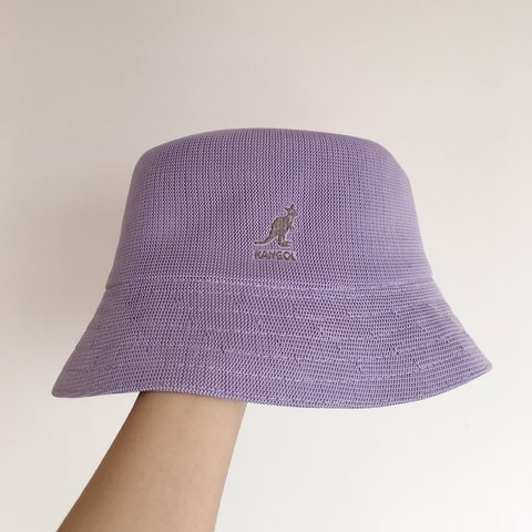 8fa852456f982 Lilac Kangol bucket hat. Brand new with tags. Genuine