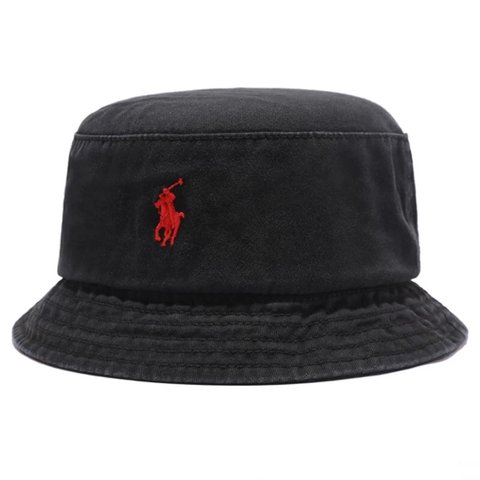 70e14db334b319 @elejui. 9 months ago. London, United Kingdom. Ralph Lauren short brim  bucket hat ...