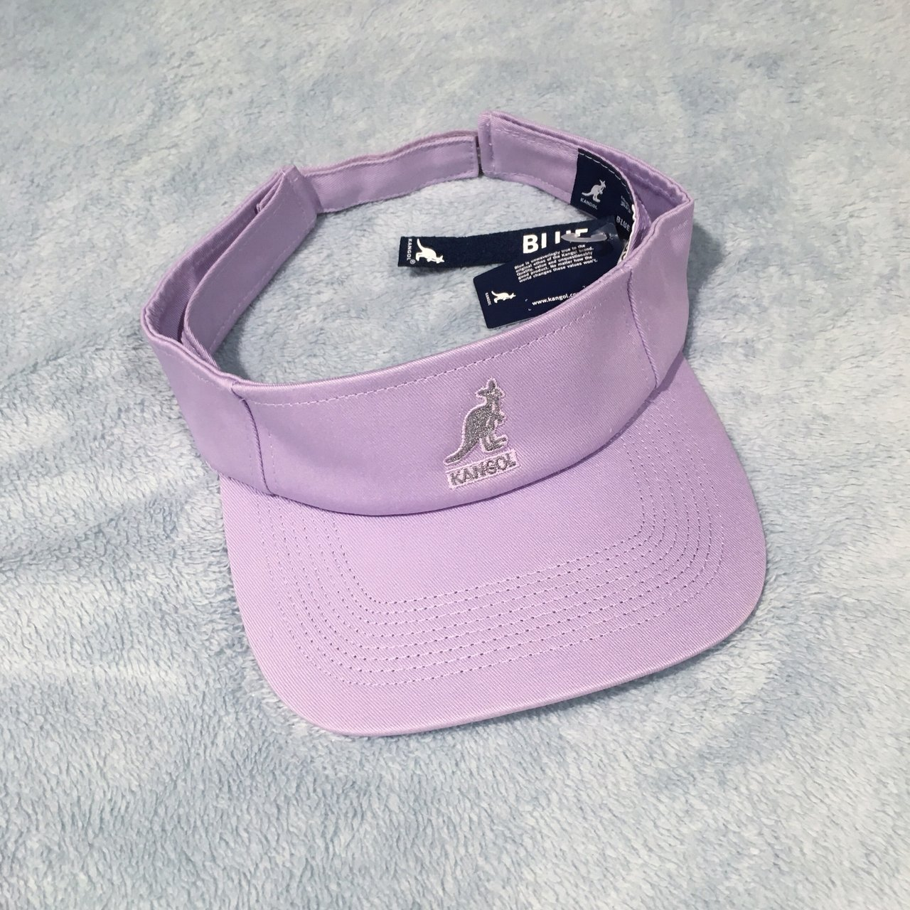 Kangol lilac visor cap hat. Brand new with tags. One size is - Depop c920132e72d3
