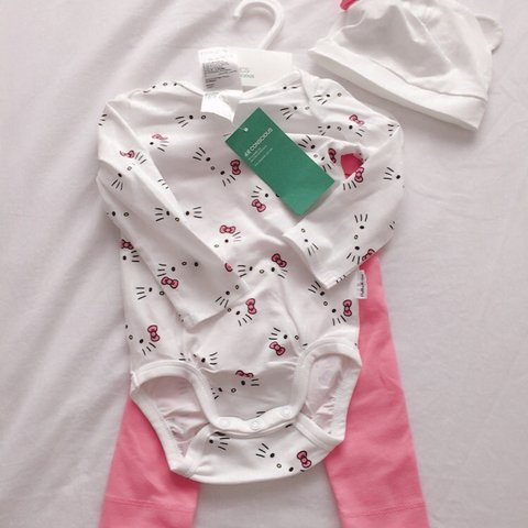 3d804df44 Brand New with tags: Hello Kitty Baby clothes, including: - Depop