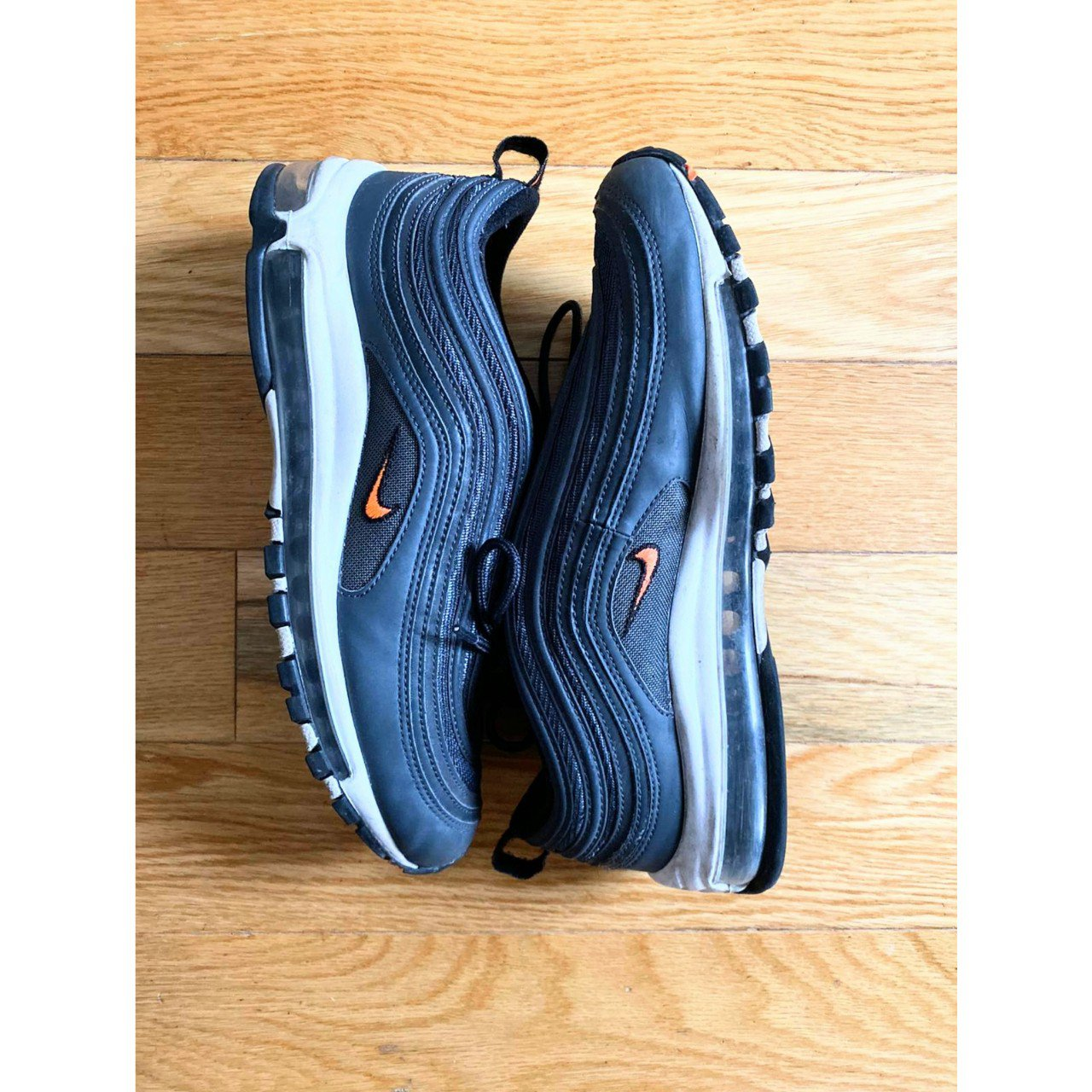 Men's Air Max 97 'AnthraciteTotal Orange Black' Depop
