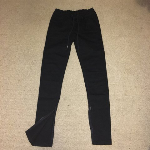 c29c4569c145 @lucawmd. 5 months ago. Silver Spring, United States. black twill zipper  pants from hyper denim