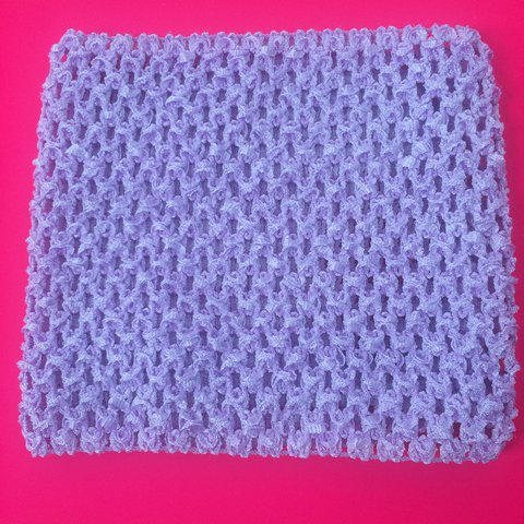 Lilac Light Purple Crochet Boob Tube Tube Top Would A Depop