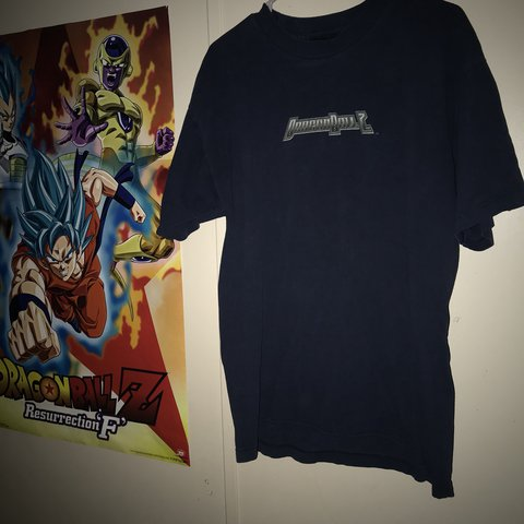 f69414a34c4558 Vintage Dragon Ball Z Shirt 🌟 Size  L 🌟 in really good and - Depop