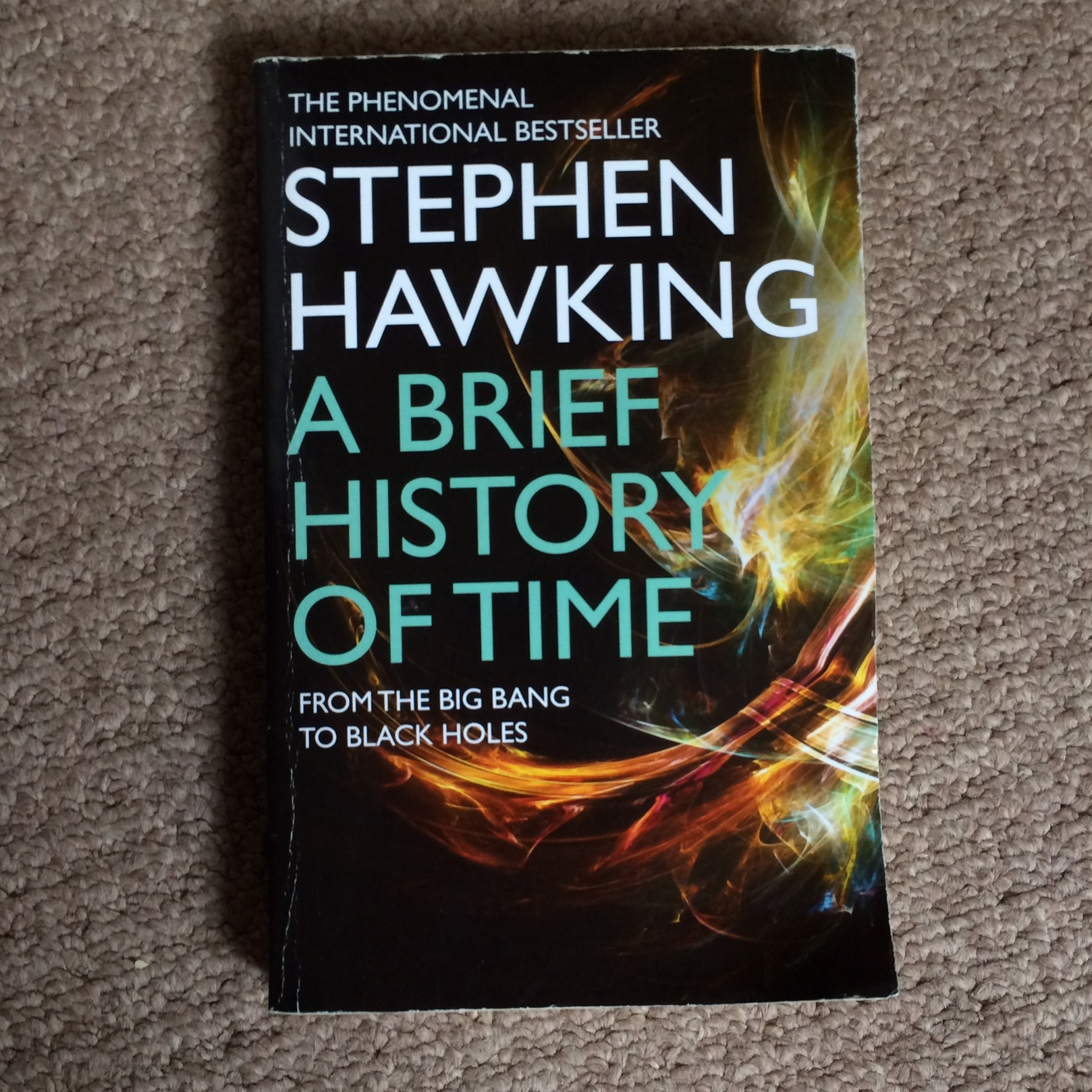 Stephen Hawking A Brief History Of Time The