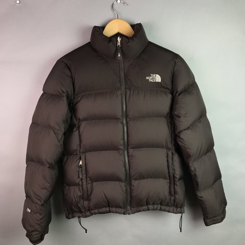 de21151974 The North face 700 brown down filled puffer 🐡• embroidered - Depop
