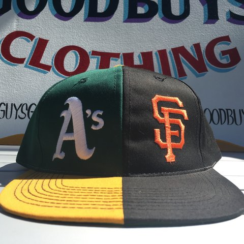 d217b2c830952 Battle of the Bay! RARE Oakland Athletics San Francisco hat - Depop