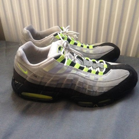 1d752fa03d ... Vintage Nike air max 95 size UK 12 - they ve been worn quite - Depop ...