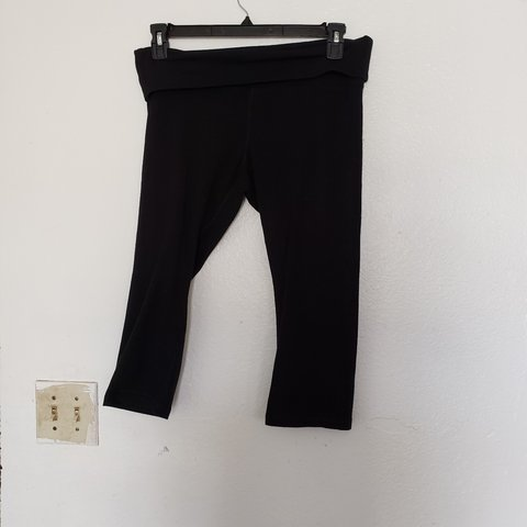 73537ec2d5e19 @jayjj. 5 months ago. Texas, US. Used Old navy active go dry maternity  cropped jogging pants ...