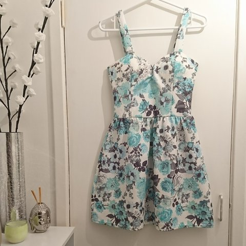 Absolutely stunning floral Skater dress- 0 55d581af6