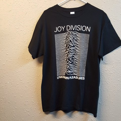 141c0c3a Joy Division Unknown Pleasures Graphic Tee Shirt, pre owned - Depop