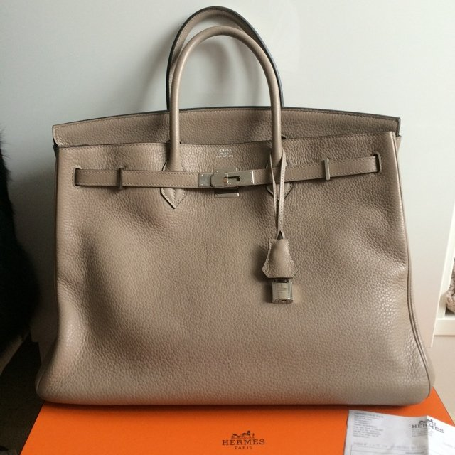 4a285eab0e20 ... coupon for hermes birkin in gris tourterelle is beige gray colour. easy  depop e10fe 31eab