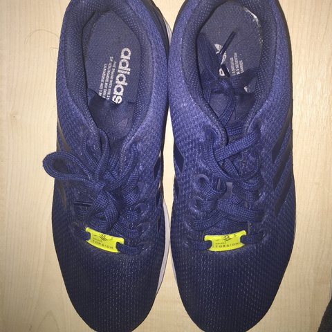 b581226e8 Adidas ZX Flux Blue Size 7 - Worn once  Trainers  Sneakers - Depop
