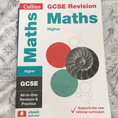 Brand new gcse maths revision guide for the new 9 1 gcse of depop fandeluxe Images