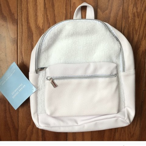 Sherpa Cloud Backpack By Ariana Grande New With Tags A Depop
