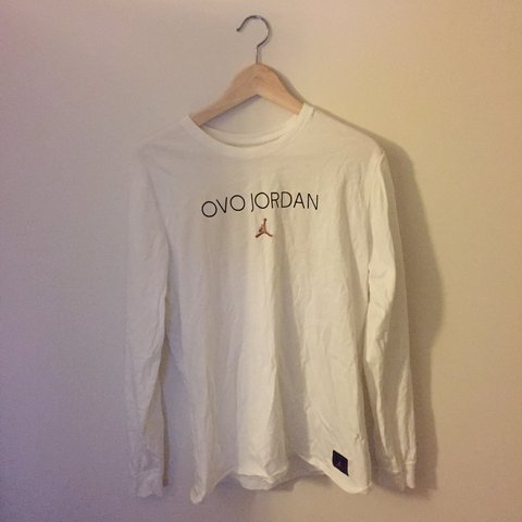 e767e46fc41 OVO (October's Very Own) x Jordan brand longsleeve tee in / - Depop
