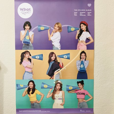 OFFICIAL What Is Love ? TWICE A Ver  POSTER *NEW* K-POP