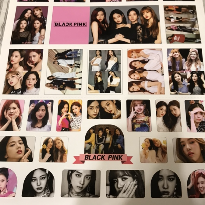 Lots of Blackpink Stickers 16 5X12 inches     - Depop